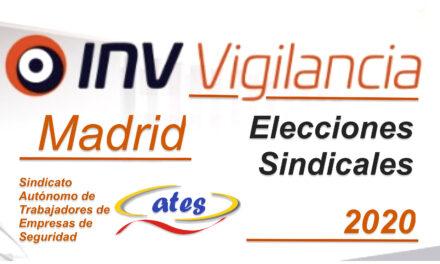 ATES consigue otro mandato, mas representatividad en las elecciones sindicales INV Madrid