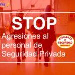 ATES denuncia las continuas agresiones a Vigilantes de Seguridad
