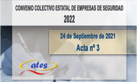 Convenio Colectivo 2022, acta N.º 3