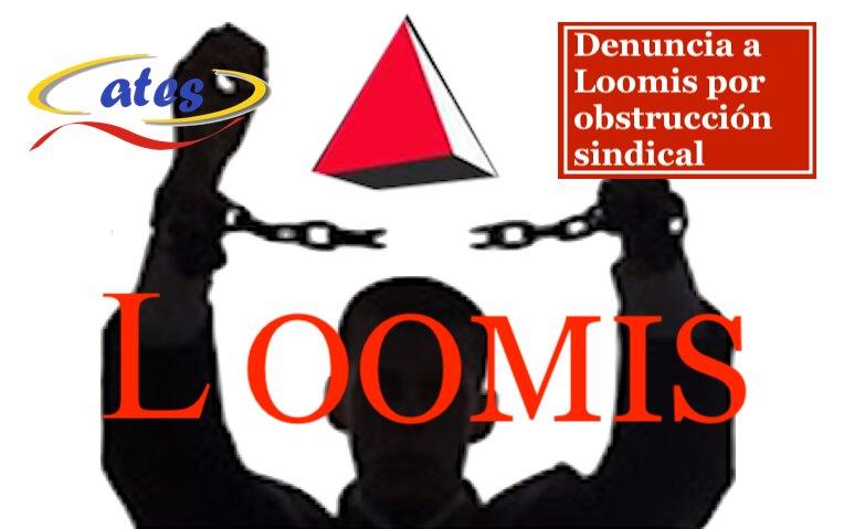ATES denuncia en Valencia a Loomis por obstrucción sindical y obligar a los trabajadores a prolongar las jornadas