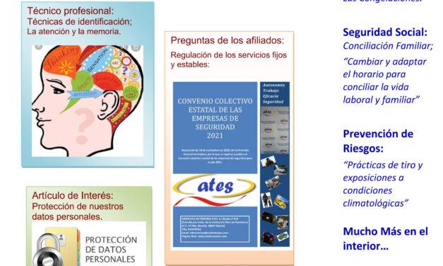 Revista ATES del mes de septiembre