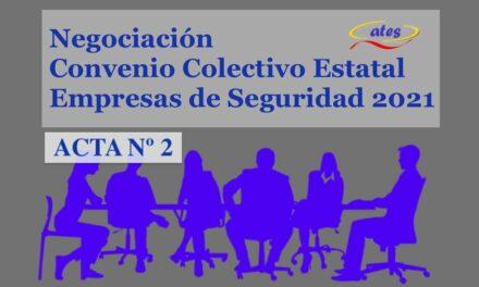 Publicada el acta nº 2 de la negociación del Convenio Colectivo Estatal, no esperábamos nada diferente a lo sucedido en otros convenios