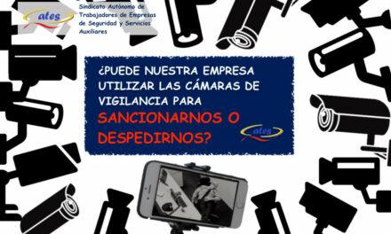 ¿Puede nuestra empresa utilizar las cámaras de vigilancia para sancionarnos o despedirnos?