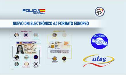 NUEVO DNI ELECTRÓNICO 4.0 FORMATO EUROPEO