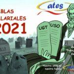 Tablas salariales año 2021