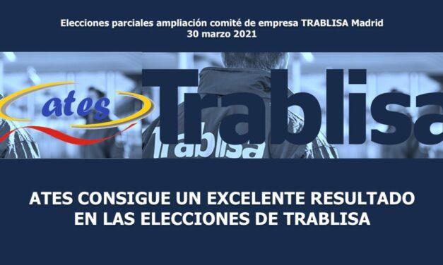 ATES consigue un excelente resultado en las elecciones parciales de TRABLISA
