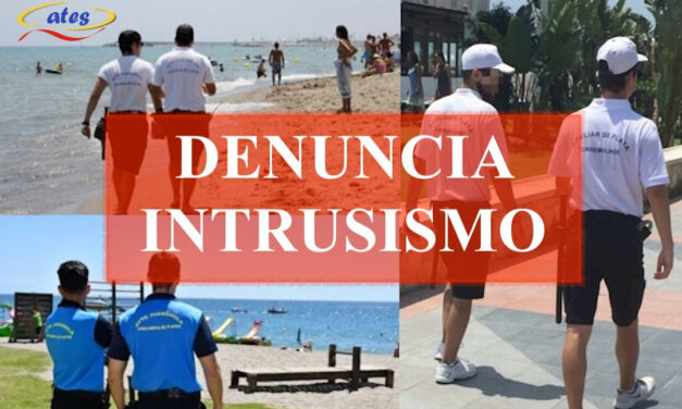 ATES denuncia intrusismo en las playas ante la Unidad Central de Seguridad Privada