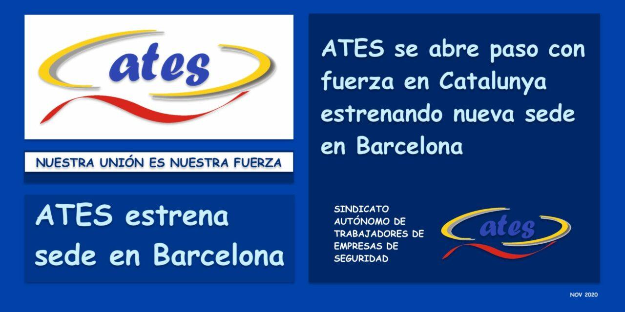 ATES se abre paso con fuerza en Catalunya estrenando nueva sede en Barcelona
