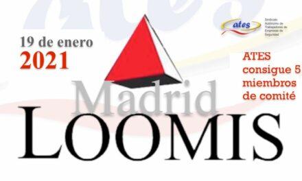 ATES consigue 5 miembros de comité en las elecciones en LOOMIS Madrid